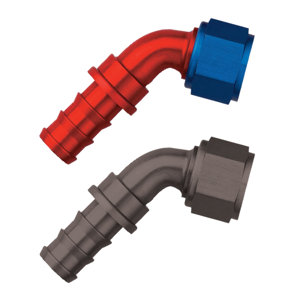 Titan - 60º Push-Lock Hose End